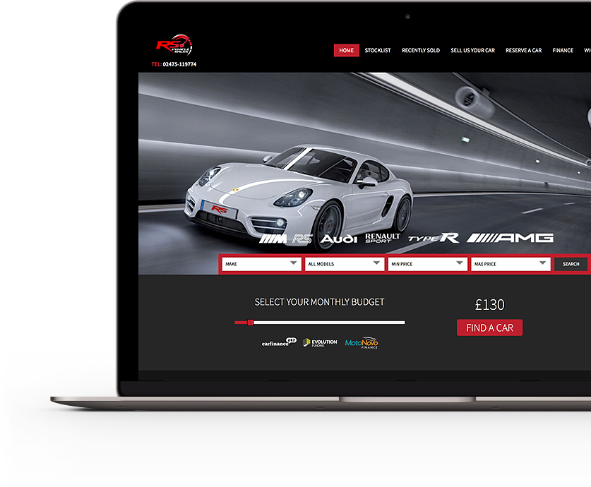 Car Sales Website Design | Dealers | Motor Traders from Only £450+ ...