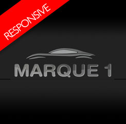 Marque 1 Cars - Responsive Template