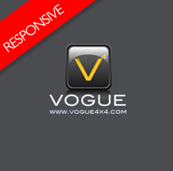 Vogue 4x4 - Responsive Template